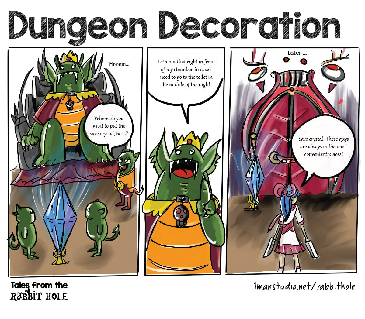Dungeon Decoration - Tales from the Rabbit Hole