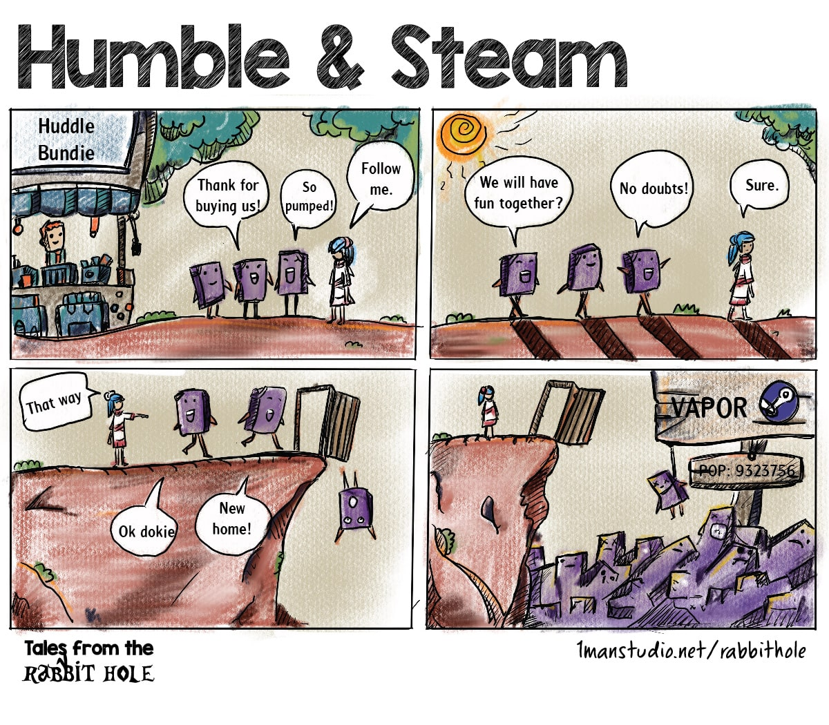 Humble and Steam