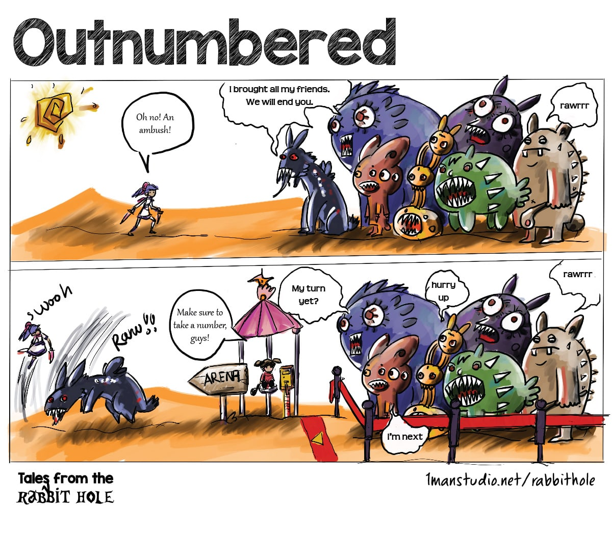 Outnumbered - Tales from the Rabbit Hole